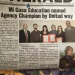 United Way Champion of Youth Award